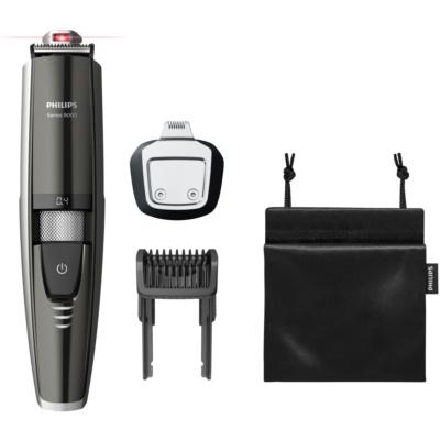 aparador de barba impermeável com orientação a laser