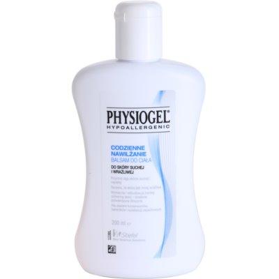 feuchtigkeitsspendendes Körperbalsam für trockene und empfindliche Haut