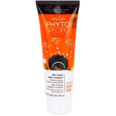 Haarcreme für die leichte Kämmbarkeit des Haares
