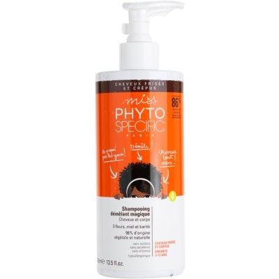dětský šampon pro snadné rozčesání vlasů