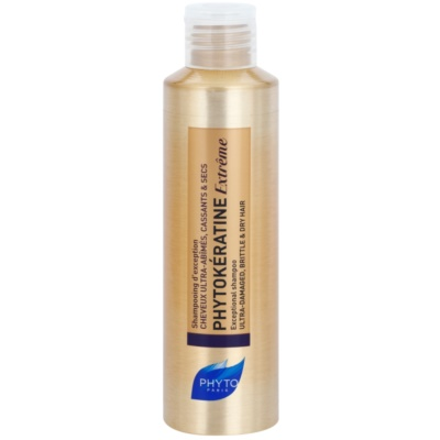Phyto Phytokératine Extrême Regenerating Shampoo for Severely Damaged and Brittle Hair