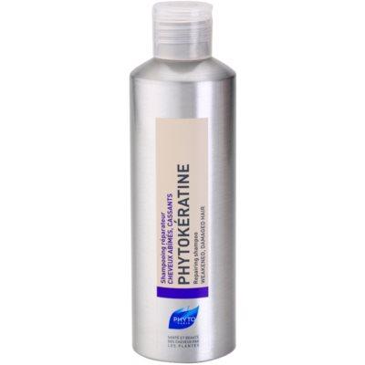 obnovitveni šampon za poškodovane lase