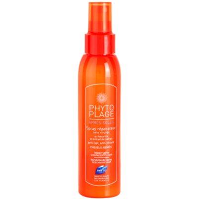 spray po opalaniu do włosów zniszczonych