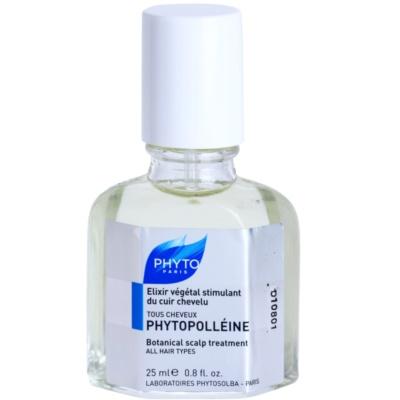 Phyto Phytopolléine sérum para estimular crescimento para renovar couro cabeludo