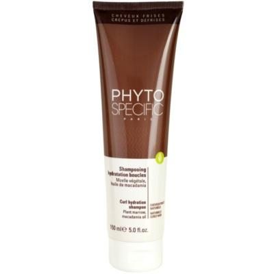 hydratační šampon pro vlnité vlasy