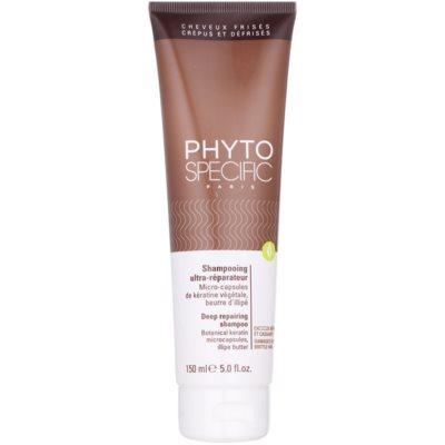 szampon głęboko regenerujący do włosów słabych i zniszczonych