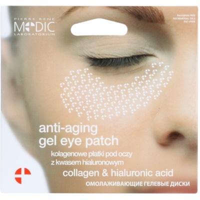 očné gélové vankúšiky proti starnutiu