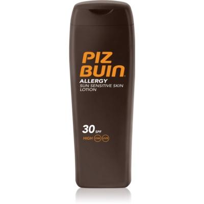 Piz Buin Allergy leite bronzeador SPF 30