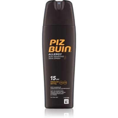 Piz Buin Allergy spray solaire SPF 15