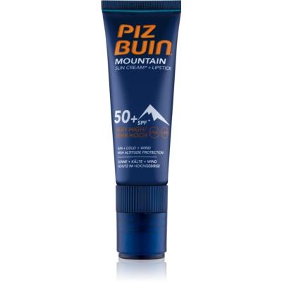 Piz Buin Mountain zaščitni balzam SPF 50+
