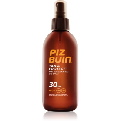 Piz Buin Tan & Protect óleo protetor para acelerar o bronzeado SPF30