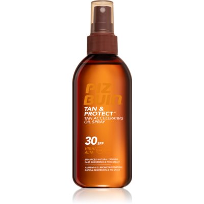 Piz Buin Tan & Protect huile protectrice accélérateur de bronzage SPF 30
