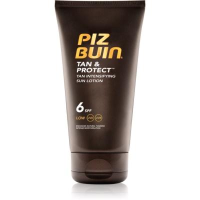 Piz Buin Tan & Protect Protective Accelerating Sun Lotion SPF 6