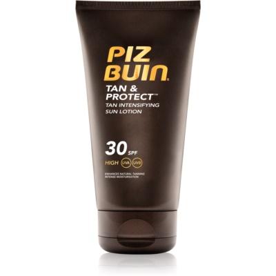 Piz Buin Tan & Protect προστατευτική λοσιόν για την επιτάχυνση του μαυρίσματος SPF 30
