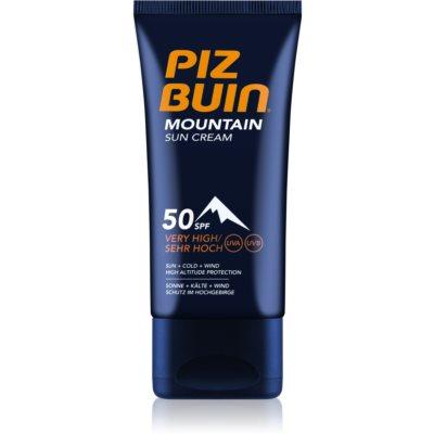 Piz Buin Mountain crème solaire visage SPF 50+