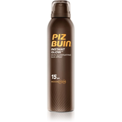 Piz Buin Instant Glow spray solaire illuminateur SPF 15
