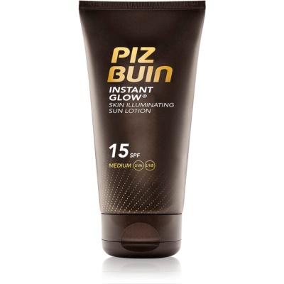 Piz Buin Instant Glow Skin Illuminating Sun Lotion SPF 15