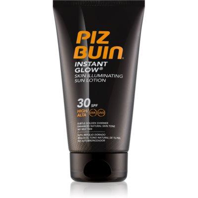 Piz Buin Instant Glow Skin Illuminating Sun Lotion SPF 30