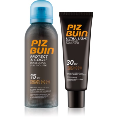 Piz Buin Protect & Cool kit di cosmetici I.