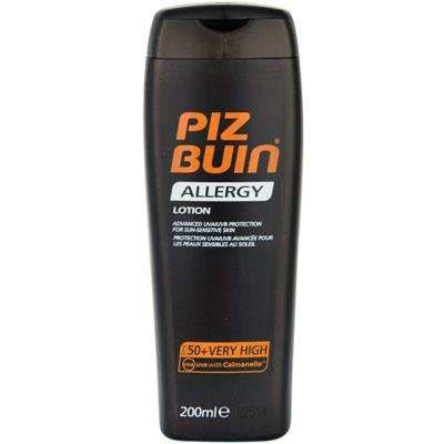 Piz Buin Allergy мляко за загар  SPF 50+