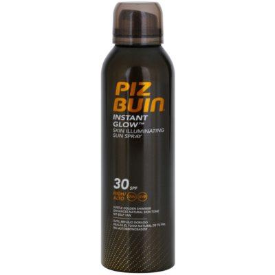 spray de bronzeamento com efeito radiante SPF 30