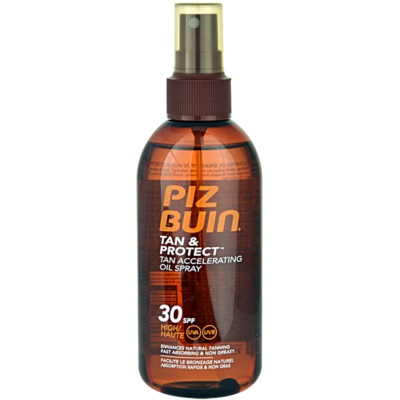Piz Buin Tan & Protect ulei protector pentru accelerarea bronzului SPF30