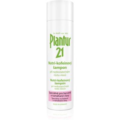 szampon nutri-kofeinowy do włosów farbowanych i zniszczonych