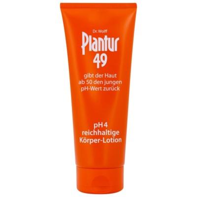 výživné tělové mléko pro omlazení pokožky pH 4