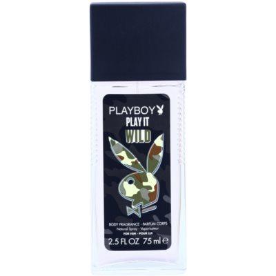 Playboy Play it Wild deodorant s rozprašovačem pro muže 75 ml