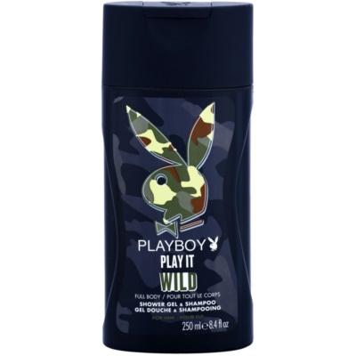 Playboy Play it Wild гель для душу для чоловіків 250 мл