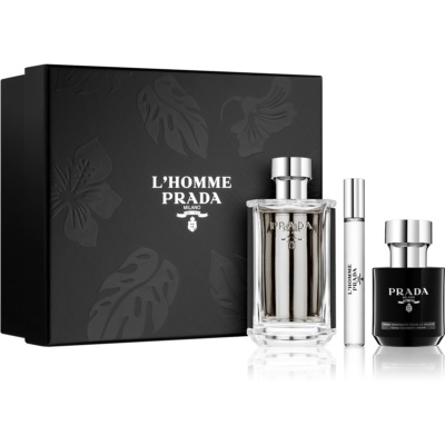 Prada L'Homme Gift Set I.  Eau De Toilette 100 ml + Shower Cream 100 ml