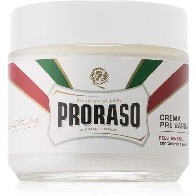 Proraso White crème avant-rasage peaux sensibles