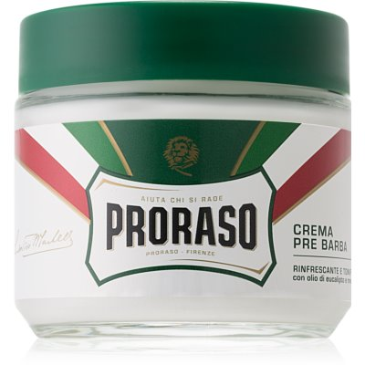 Proraso Green крем преди бърснене