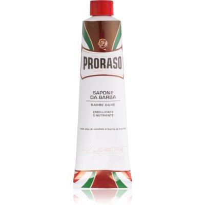Proraso Red σαπούνι ξυρίσματος για σκληρά γένια σε σωλήνα