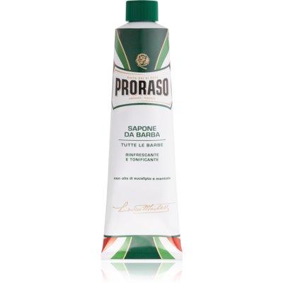 Proraso Rinfrescante E Tonificante savon de rasage en tube