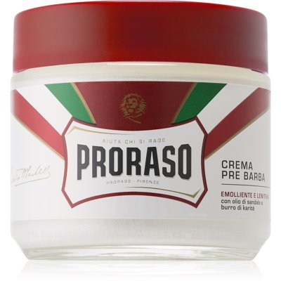 Proraso Red Pre-Shaving Cream for Tough Stubble