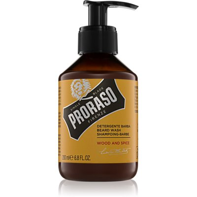 Proraso Wood and Spice shampoo per barba
