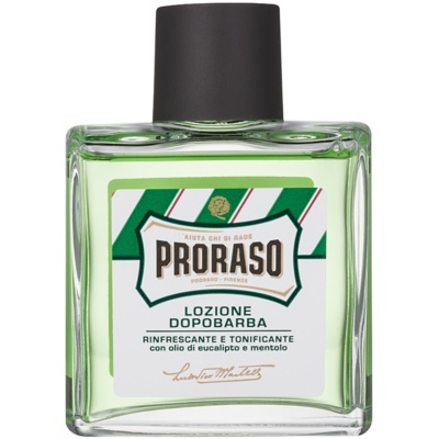 Proraso Green aftershave refrescante