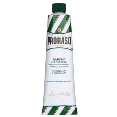 Proraso Green Scheerzeep  in Tube