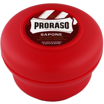 Proraso Red Shaving Soap for Coarse Facial Hair