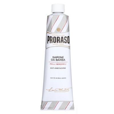 sabão de barbear para pele sensível em bisnaga