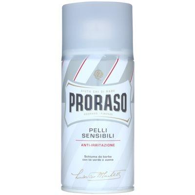 Proraso White пяна за бръснене  за чувствителна кожа на лицето