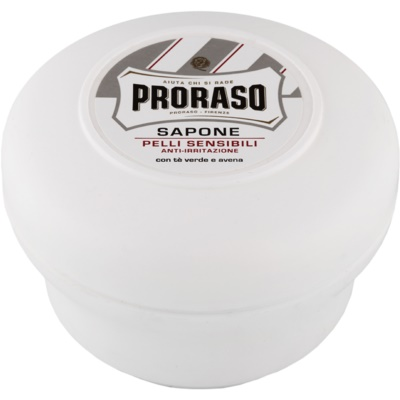Proraso White Shaving Soap For Sensitive Skin