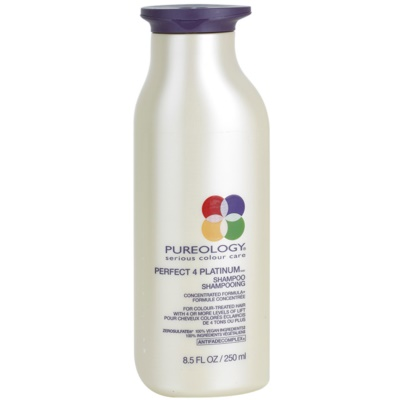 Pureology Perfect 4 Platinum σαμπουάν για ξανθά και με ανταύγειες μαλλιά