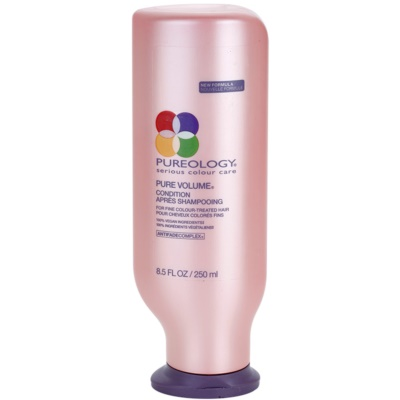dúsító kondicionáló a vékony szálú, festett hajra