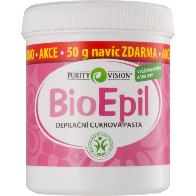 Purity Vision BioEpil Zuckerpaste zur Depilation