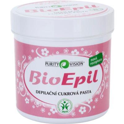 Purity Vision BioEpil depilačná cukrová pasta