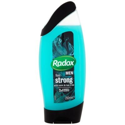 Radox Men Feel Strong τζελ για ντους και σαμπουάν 2 σε 1