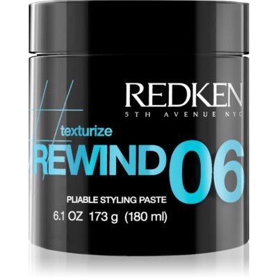 Redken Texturize Rewind 06 pasta moldeadora para dar definición al peinado para cabello