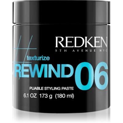 Redken Texturize Rewind 06 stylingová modelovacia pasta na vlasy